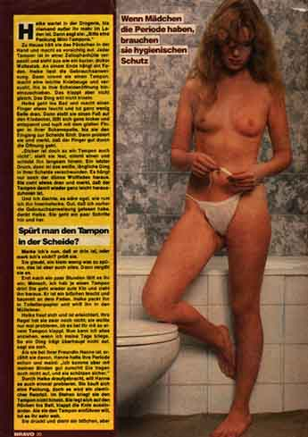 German Bravo Magazine Nude 69